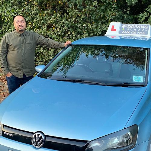 Driving Instructor: Nadeem Iqbal