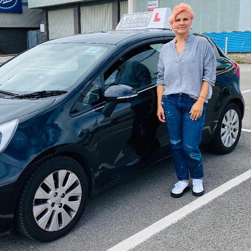 Driving Instructor: Monika Wojcik
