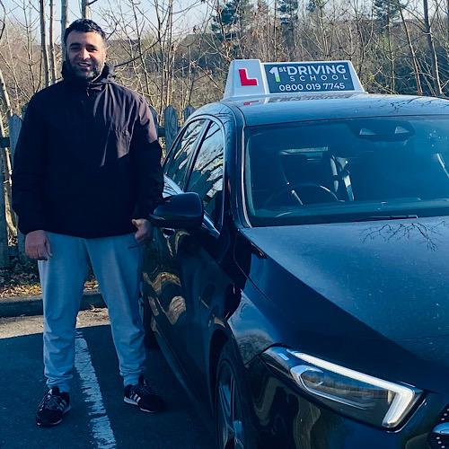 Driving Instructor: Adiel Khan
