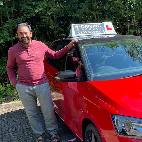 Driving Instructor: Sabir Mahmood