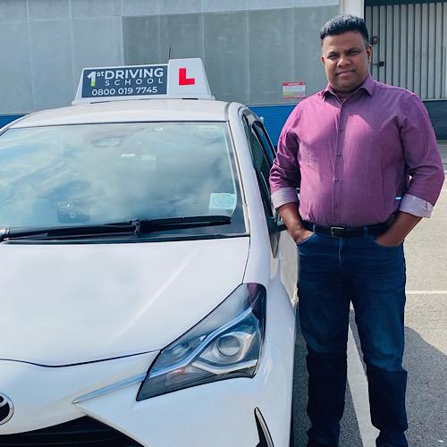 Driving Instructor: Shibu Ramakrishnan